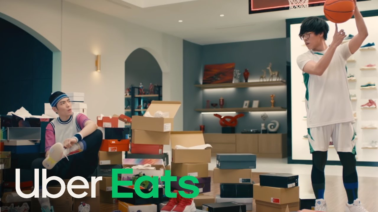 """""""Tonight, I'll be eating…"""" Internet slams Uber Eats spokesperson campaign ads. Is a plus or minus for the brand profile?"""