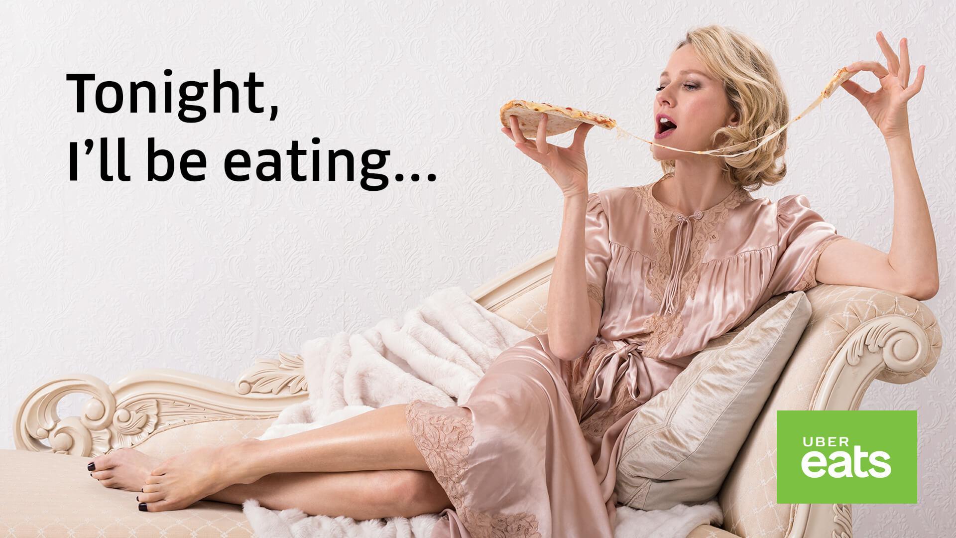 「今晚我想來點… 」  網友噓爆的Uber eats代言人廣告,為品牌加分或扣分?