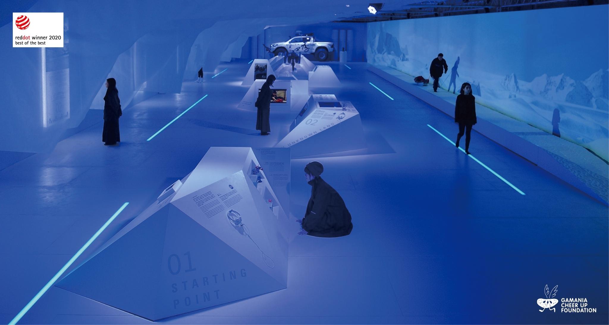 台灣史上第一個南極冒險展  奪2020德國紅點最佳設計獎