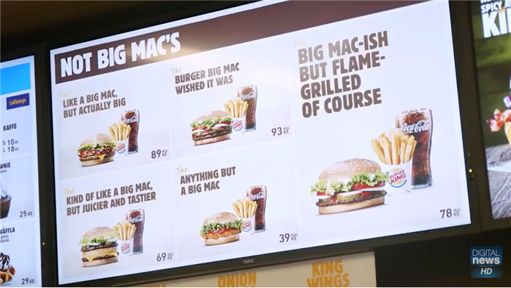 Who Says You Can Only Promote Sales and Not Your Brand, This is How Burger King Does It