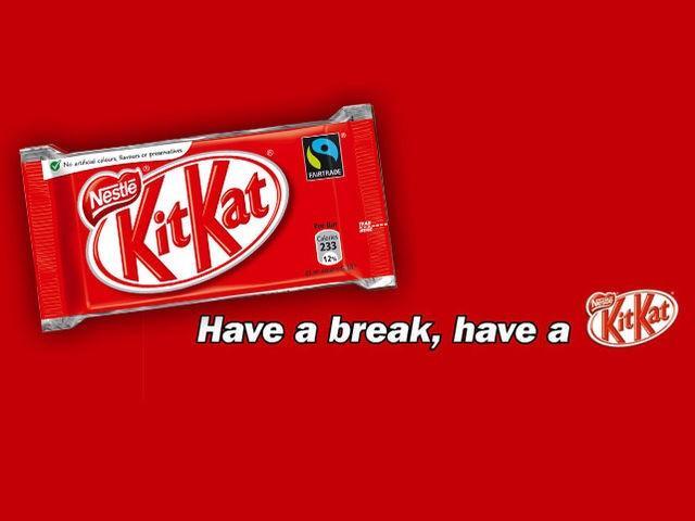 """看Kit Kat巧克力棒,怎麼駭客別的品牌""""永不休息""""的廣告主角,讓他們休息一下!?"""