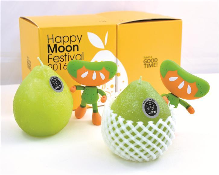 Happy Moon Festival 柚子の会。中秋の名月がろうそくの光に映える